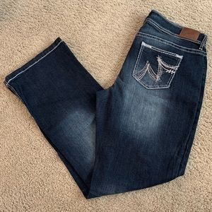 Like New! Maurices, DarkWash Jeans- Sz 18 Long